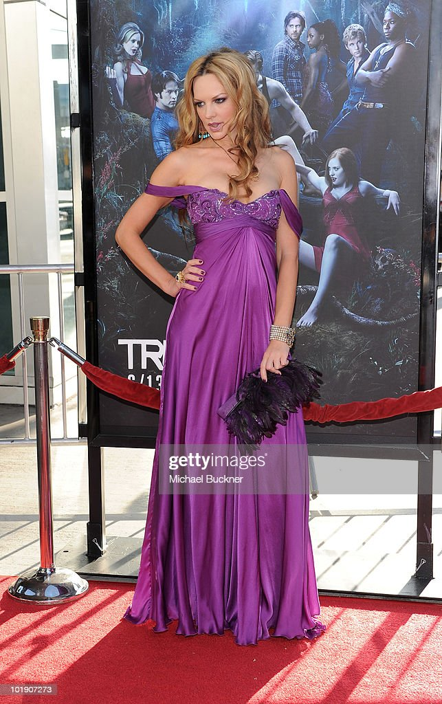 Actress Natasha Alam arrives at the premiere of HBO's 'True Blood' Season 3 at The Cinerama Dome on June 8, 2010 in Hollywood, California.