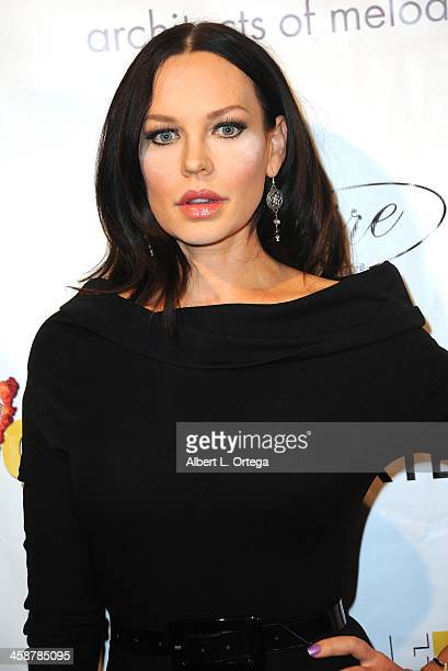 Actress Natasha Alam attends Britticares Toy Drive with a benefit concert by G Tom Mac Many Of Odd Nature in conjunction with publicist Michael...