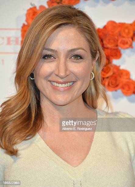 Actress Natasha Alexander attends the 3rd Annual Coach Evening to benefit Children's Defense Fund at Bad Robot on April 10 2013 in Santa Monica...