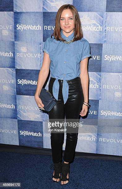 Actress Natasha Bassett arrives at the People StyleWatch 4th Annual Denim Awards Issue at The Line on September 18, 2014 in Los Angeles, California.
