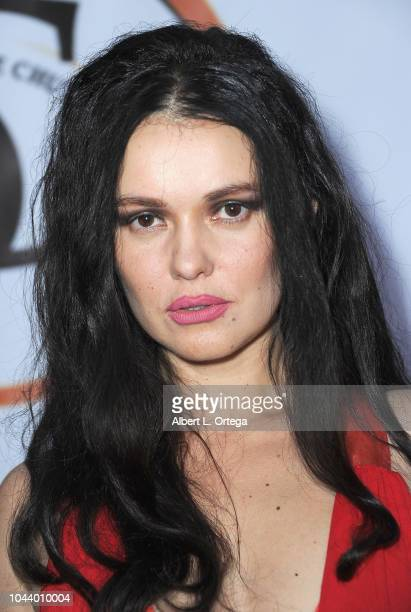 Actress Natasha Blasick arrives for 2nd Annual HAPAwards held at Alex Theatre on September 30 2018 in Glendale California