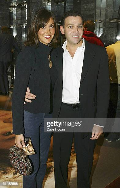 Actress Natasha Caine and guest arrive at the World Premiere of Alfie at the Empire Leicester Square on October 14 2004 in London Natasha's father...