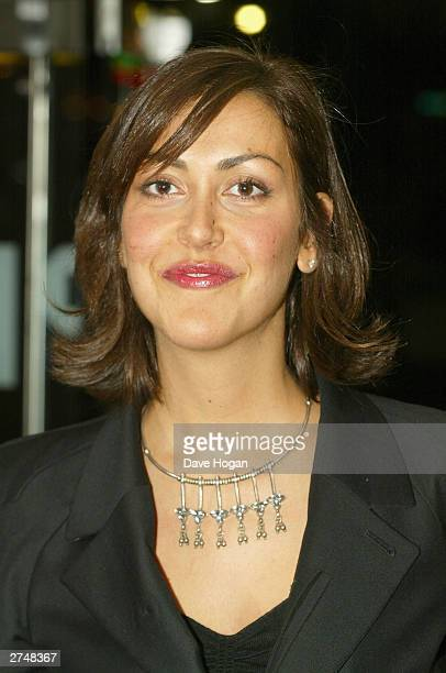Actress Natasha Caine arrives for the Gumball 3000 The Movie World Premiere held on November 20 2003 at the Odeon Leicester Square in London