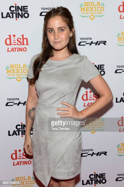 Actress Natasha Dupeyron attends the 9th Annual Hola Mexico Film Festival opening ceremony and screening of 'La Vida Inmoral De La Pareja Ideal' at...
