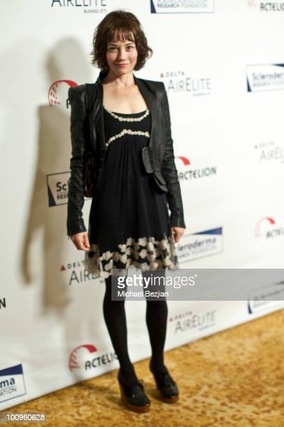 Actress Natasha Gregson Wagner attends The Cool ComedyHot Cuisine Fundraiser To Benefit The Scleroderma Research the Beverly Wilshire hotel on May 25...