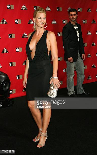 Actress Natasha Henstridge arrives at the VH1 Rock Honors at the Mandalay Bay Events Center on May 25 2006 in Las Vegas Nevada