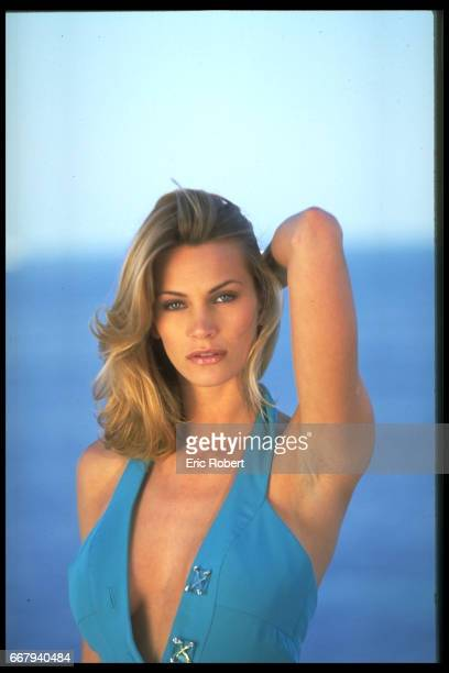 Actress Natasha Henstridge at Cannes Film Festival