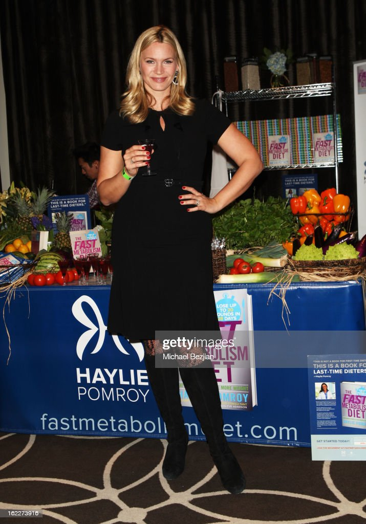 Actress Natasha Henstridge attends Kari Feinstein's Pre-Academy Awards Style Lounge at W Hollywood on February 21, 2013 in Hollywood, California.