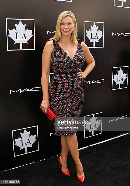 Actress Natasha Henstridge attends the 2015 Golden Maple Awards at The SLS Hotel on July 1 2015 in Beverly Hills California