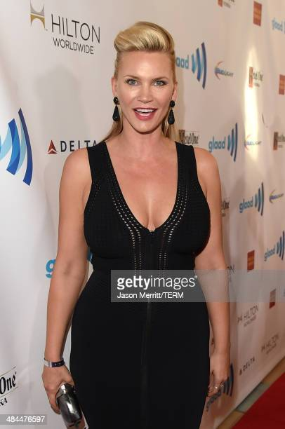 Actress Natasha Henstridge attends the 25th Annual GLAAD Media Awards at The Beverly Hilton Hotel on April 12 2014 in Los Angeles California