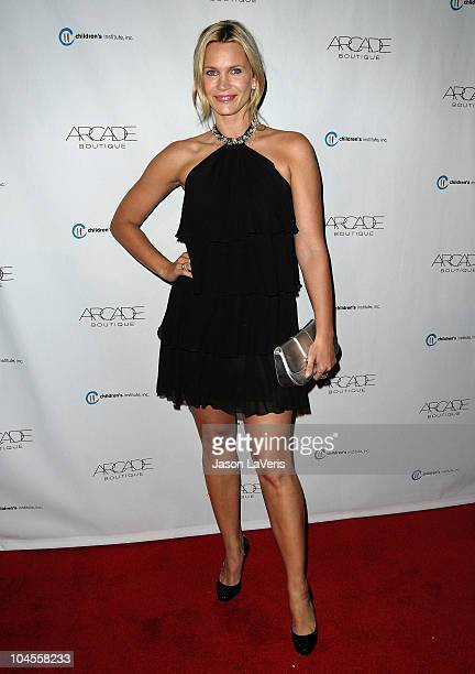 Actress Natasha Henstridge attends the Autumn Party benefiting Children's Institute at The London Hotel on September 29, 2010 in West Hollywood,...