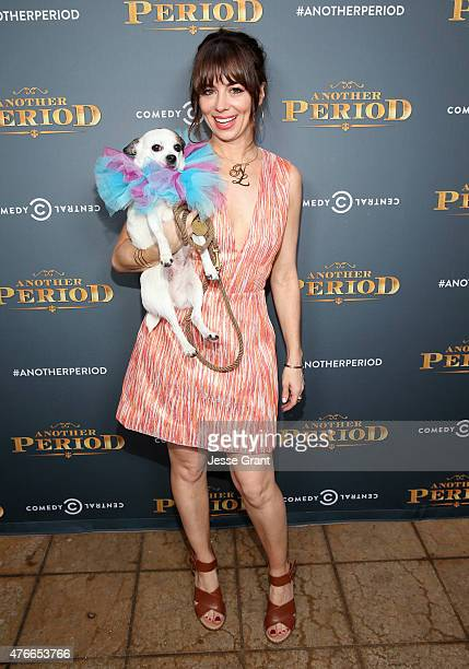 Actress Natasha Leggero attends Comedy Central's 'Another Period' Premiere Party Event at The Ebell Club of Los Angeles on June 10 2015 in Los...