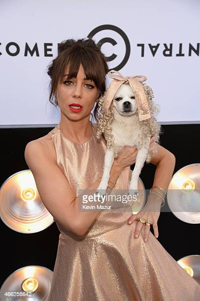 Actress Natasha Leggero attends The Comedy Central Roast of Justin Bieber at Sony Pictures Studios on March 14, 2015 in Los Angeles, California.