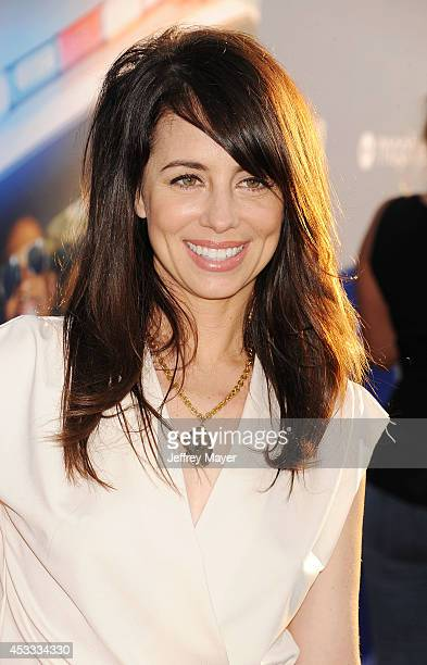 Actress Natasha Leggero attends the 'Let's Be Cops' Los Angeles Premiere held at the ArcLight Hollywood on August 7, 2014 in Hollywood, California.