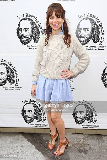 Actress Natasha Leggero attends The Los Angeles Drama Club's 2nd Annual 'Tempest In A Teacup' Gala Fundraiser And Benefit Performance at The Magic...