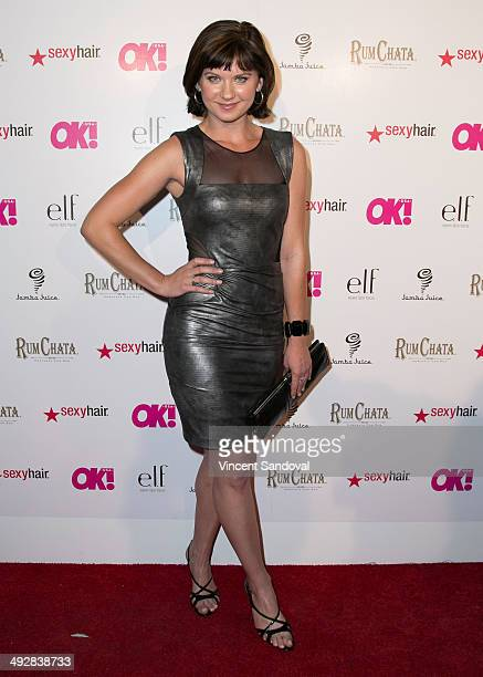 Actress Natasha Leigh attends OK Magazine's So Sexy LA event at Lure on May 21 2014 in Hollywood California
