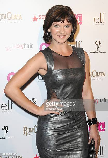 Actress Natasha Leigh attends OK Magazine's So Sexy LA Event at LURE on May 21 2014 in Los Angeles California