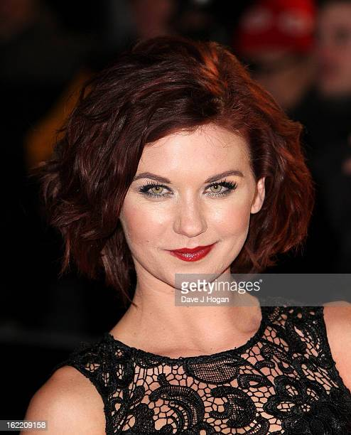 Actress Natasha Leigh attends the UK Premiere of 'Arbitrage' at Odeon West End on February 20 2013 in London England