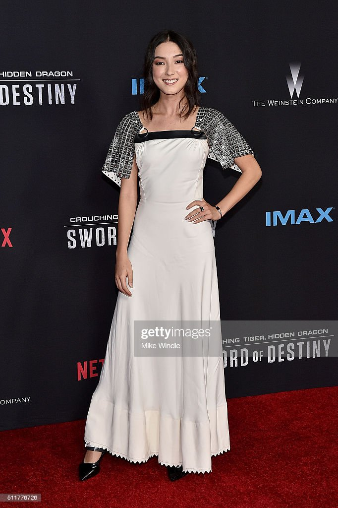 "Premiere Of Netflix's ""Crouching Tiger, Hidden Dragon: Sword Of Destiny"" - Arrivals : Foto jornalística"