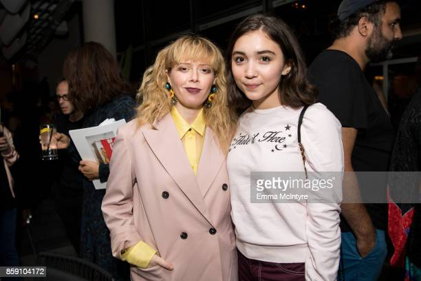 Actress Natasha Lyonne and actress Rowan Blanchard attend 'Women Under the Influence hosts a special screening of Natasha Lyonne's directorial debut...