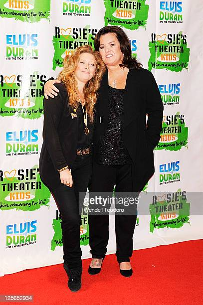 Actress Natasha Lyonne and Media Personality Rosie O'Donnell attends Rosie's Building Dreams for Kids Gala at The New York Marriott Marquis on...