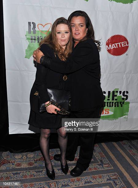 Actress Natasha Lyonne and Rosie O'Donnell attend Rosie's Building Dreams For Kids Gala at Marriot Marquis on September 20 2010 in New York City