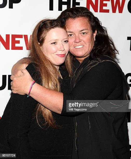 Actress Natasha Lyonne and Rosie O'Donnell attend 'The Starry Messenger' cast party at Montenapo Restaurant on November 16 2009 in New York City