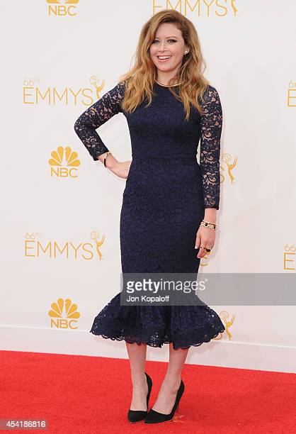 Actress Natasha Lyonne arrives at the 66th Annual Primetime Emmy Awards at Nokia Theatre LA Live on August 25 2014 in Los Angeles California