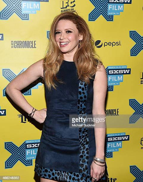 Actress Natasha Lyonne arrives at the premiere of 'Hello My Name Is Doris' during the 2015 SXSW Music FIlm Interactive Festival at Paramount Theatre...
