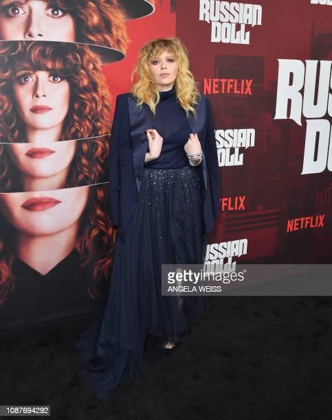 "Actress Natasha Lyonne attend Netflix's ""Russian Doll"" Season 1 premiere at Metrograph on January 23, 2019 in New York City."