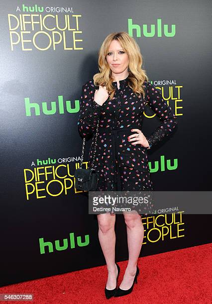Actress Natasha Lyonne attends 'Difficult People' New York Premiere at The Metrograph on July 11 2016 in New York City
