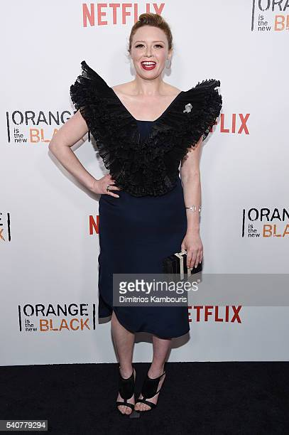 Actress Natasha Lyonne attends Orange Is The New Black premiere at SVA Theater on June 16 2016 in New York City
