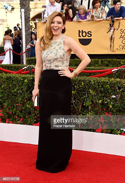 Actress Natasha Lyonne attends the 21st Annual Screen Actors Guild Awards at The Shrine Auditorium on January 25 2015 in Los Angeles California