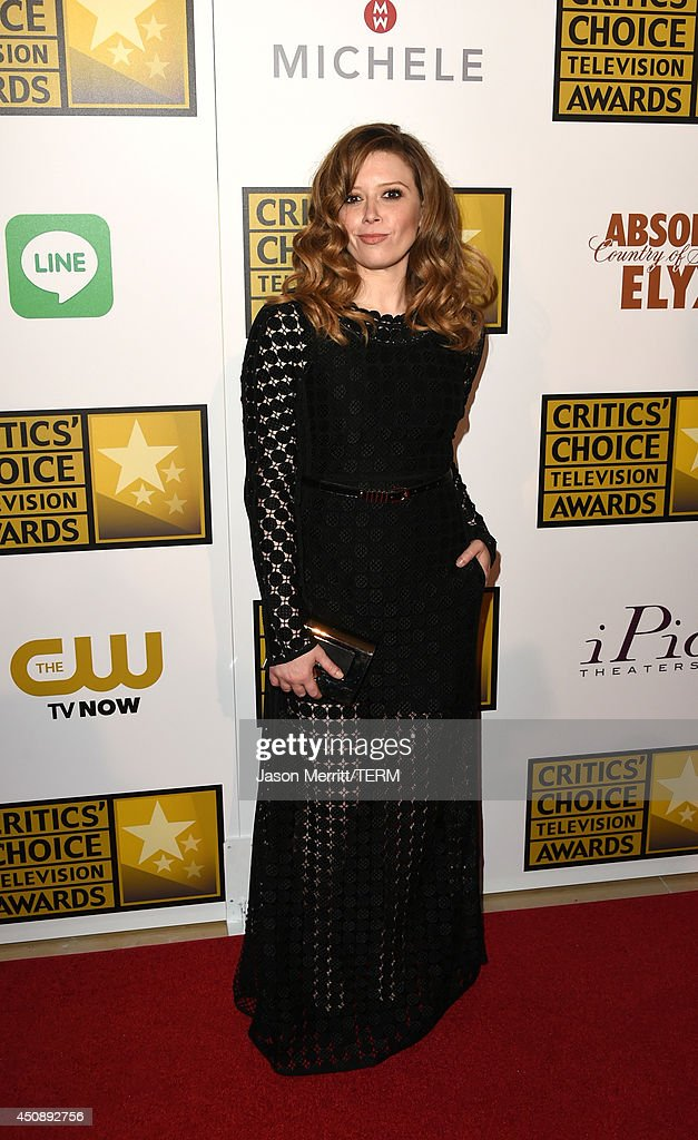 Actress Natasha Lyonne attends the 4th Annual Critics' Choice Television Awards at The Beverly Hilton Hotel on June 19, 2014 in Beverly Hills, California.