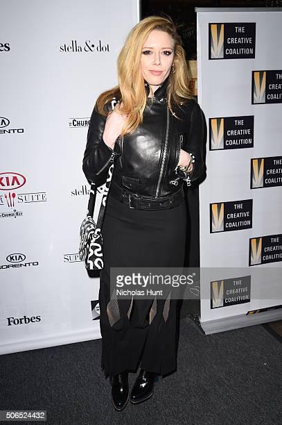 Actress Natasha Lyonne attends the Creative Coalition Spotlight Initiative Awards Gala Dinner at Cisero's Bar on January 23 2016 in Park City Utah