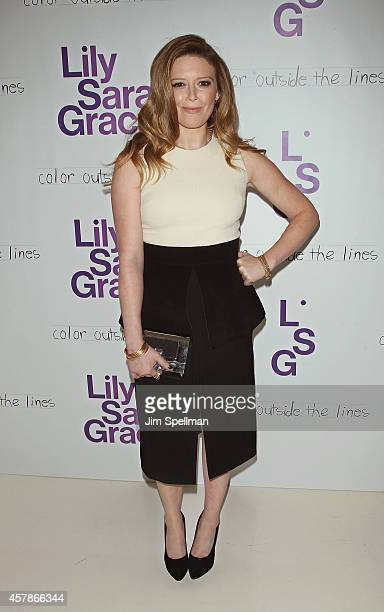 Actress Natasha Lyonne attends the LilySarahGrace Presents Color Outside The Lines at Jack Studios on October 25 2014 in New York City
