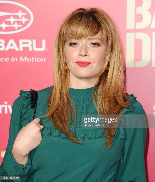 Actress Natasha Lyonne attends the premiere of 'Baby Driver' at Ace Hotel on June 14 2017 in Los Angeles California