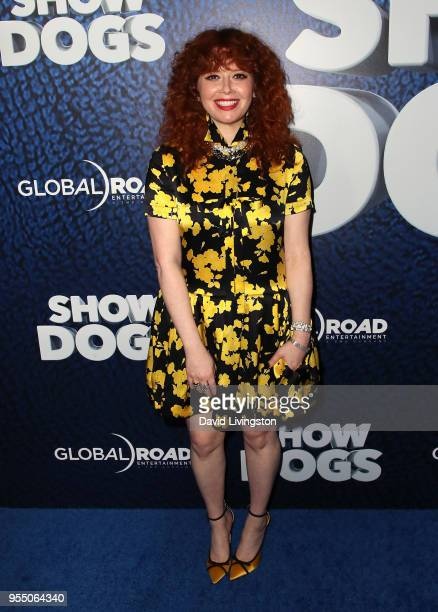 Actress Natasha Lyonne attends the premiere of Global Road Entertainment's 'Show Dogs' at TCL Chinese 6 Theatres on May 5 2018 in Hollywood California