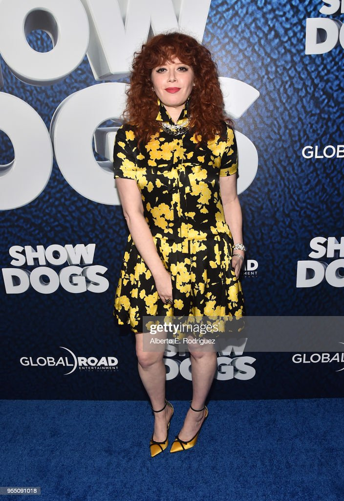 Actress Natasha Lyonne attends the premiere of Global Road Entertainment's 'Show Dogs' at The TCL Chinese 6 Theatres on May 5, 2018 in Hollywood, California.