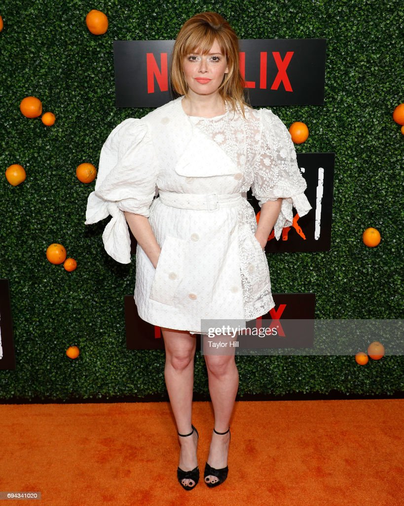 Actress Natasha Lyonne attends the Season 5 celebration of 'Orange is the New Black' at Catch on June 9, 2017 in New York City.