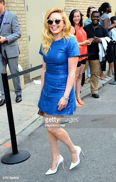Actress Natasha Lyonne is seen in Soho on June 11 2015 in New York City