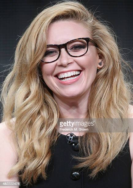 Actress Natasha Lyonne speaks onstage during the 'Orange Is the New Black' panel discussion at the Netflix portion of the 2015 Summer TCA Tour at The...