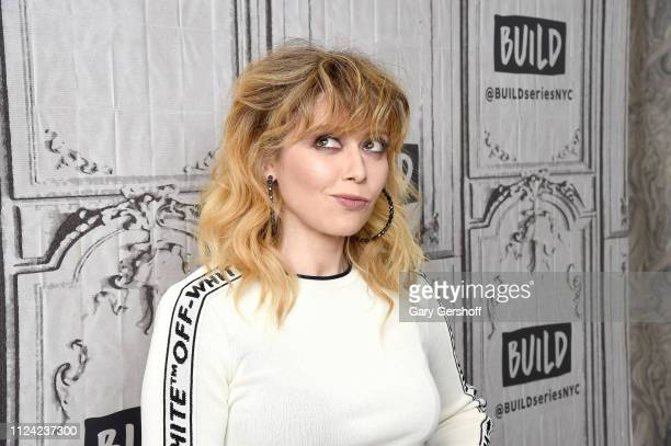 Actress Natasha Lyonne visits the Build Series to discuss the Netflix original comedy 'Russian Doll' at Build Studio on January 23 2019 in New York...