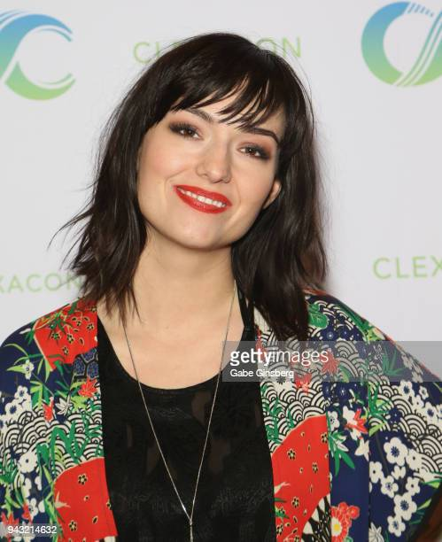 Actress Natasha Negovanlis attends the Cocktails for Change fundraiser hosted by ClexaCon to benefit Cyndi Lauper's True Colors Fund at the Tropicana...