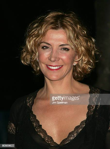Actress Natasha Richardson arrives at the 7th Annual Tribeca Film Festival Vanity Fair Party at the State Supreme Courthouse on April 22 2008 in New...