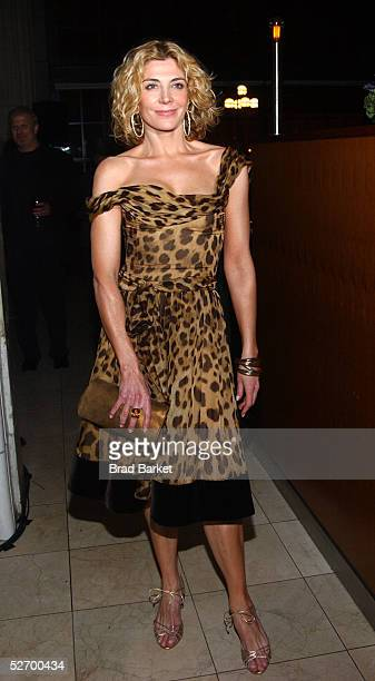 """Actress Natasha Richardson attends the after party for the opening of """"A Streetcar Named Desire"""" at Gustavinos on April 26, 2005 in New York."""