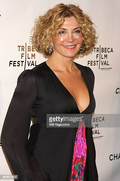 Actress Natasha Richardson attends the Chanel Tribeca Film Festival Dinner held at Ago at the Greenwich Hotel during the 2008 Tribeca Film Festival...