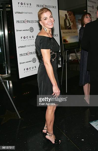 Actress Natasha Richardson attends the premiere of Pride Prejudice at Loews Lincoln Square November 10 2005 in New York City