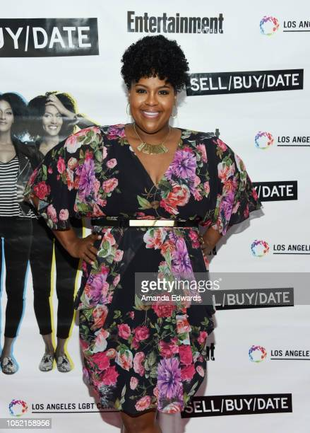 Actress Natasha Rothwell arrives at the opening night of Sell/Buy/Date at the Los Angeles LGBT Center on October 14 2018 in Los Angeles California