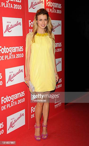 Actress Natasha Yarovenko arrives to the 'Fotogramas Awards 2010' ceremony at Joy Eslava on March 14 2011 in Madrid Spain